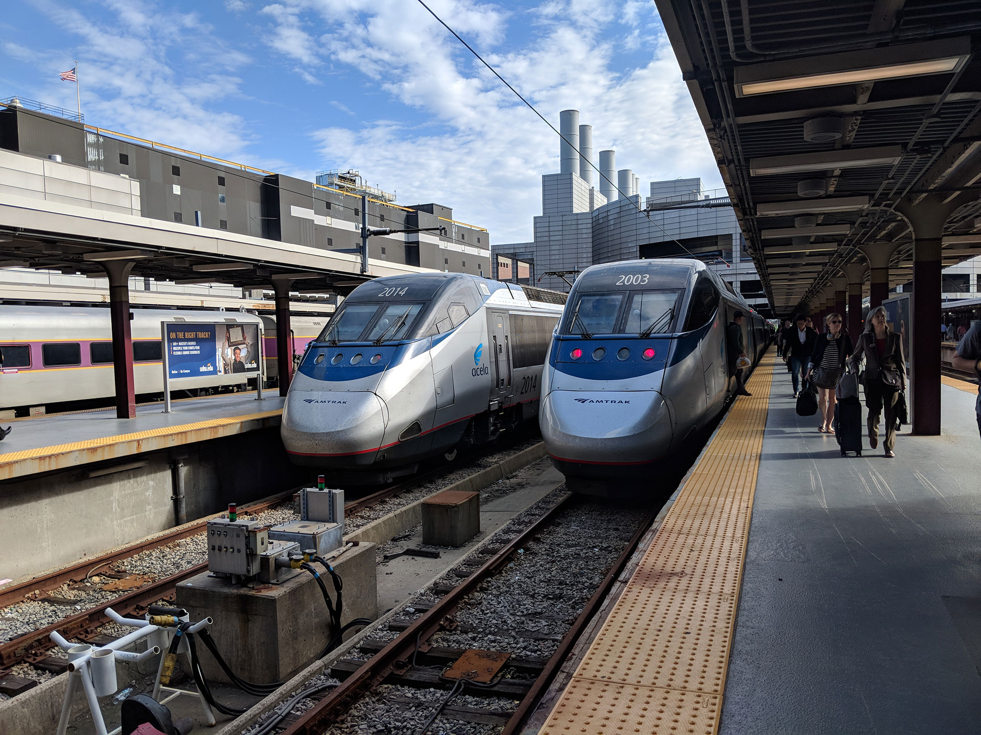 New York To Boston Train Amtrak Acela Express Review