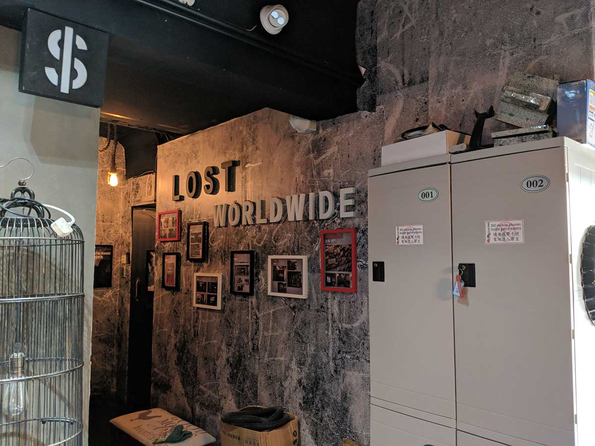 Lost Escape Room Hong Kong | Things To Do in HK Toucan ...